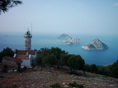 Taslik Gelidonya Lighthouse - Copyright 2007 TA2RX