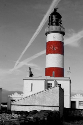 Point of Ayre Major Lighthouse - Copyright 2009 John Cole