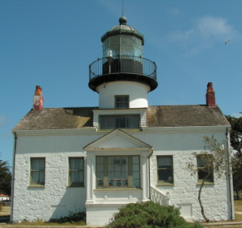 Point Pinos Lighthouse - Copyright 2009 Phil - K4PWS