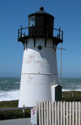 Point Montara Lighthouse - Copyright 2009 Phil - K4PWS