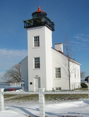 Escanaba Historic Lighthouse - Copyright 2007 Marilyn K