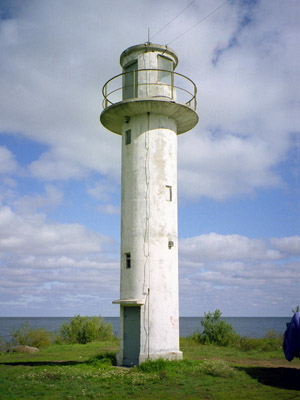 Ninaküla light beacon - Copyright 2003 Tuderna