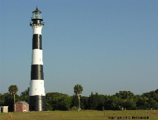 Cape Canaveral Light - Copyright 2009 JC McCormick NT4K