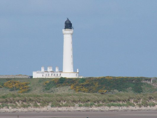 Cove Sea Lighthouse (nr. Lossiemouth) - Copyright 2010 DL4APJ