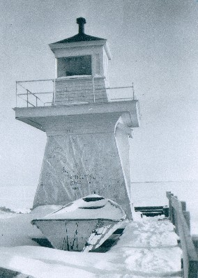 CAN846 pre 1943 spring ice breakup - Copyright 1942