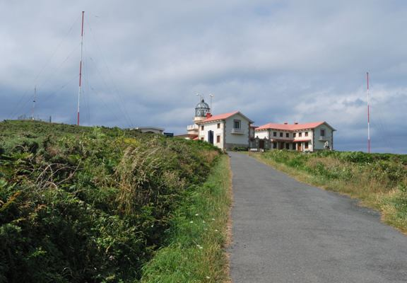 Estaca de Bares lighthouse - Copyright 2010 J.M.Santurio (EA1EBJ)