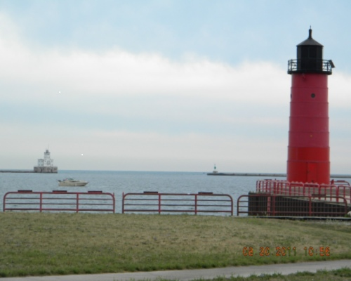 Milwaukee Pierhead Light - Copyright 2011 Paul Schumacher KD9FM