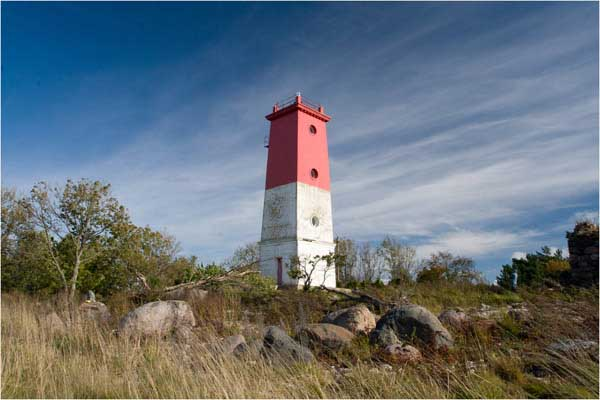 Virtsu lighthouse - Copyright 2008 Tuderna