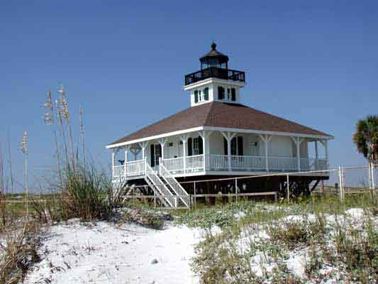 Port Boca Grande Lighthouse - Copyright 2002 Photo by F. Lee Graves