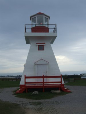 Carleton lighthouse - Copyright 2012 VE2LHP