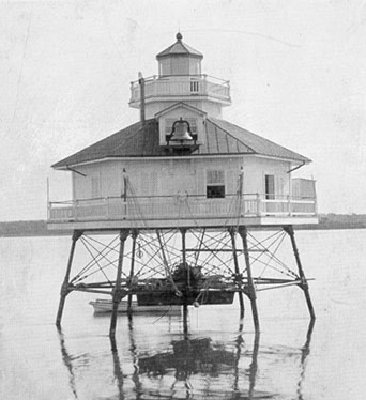Bells Rock Light - Public Domain USCG