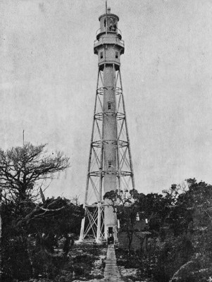 Cape Fear Light - Public Domain USLS