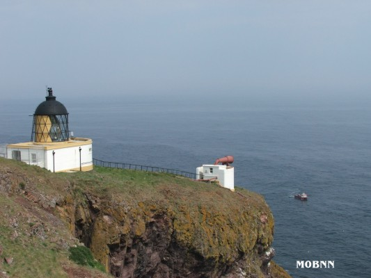 St.Abbs Head - Copyright 2006 Bill Newman