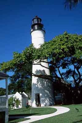 Key West Lighthouse - Copyright 2002 Photo by F. Lee Graves