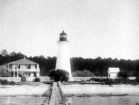 Round Island Lighthouse - Public Domain 1859 USCG