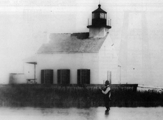 East Pascagoula River Light Station - Public Domain 1870 USCG