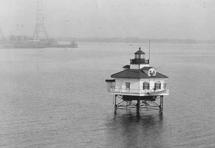 Greenbury Point Shoal Light 1925 - Copyright 1925 USCG