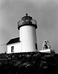 Curtis Island Light - Copyright 1975 USCG