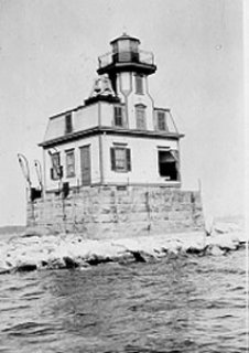 Colchester Reef Light - USCG - Copyright 1930 USCG