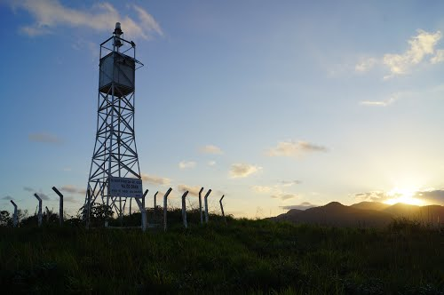 Lighthouse - Icapara - Iguape - SP - Copyright 2014 Trudes Family