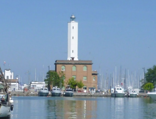 Marina di Ravenna Lighthouse - Copyright 2011