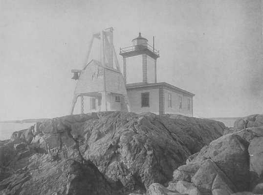 Avery Rock Lighthouse - Copyright 1946 USCG
