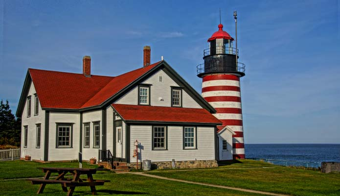 West Quoddy Head Light - Copyright 2014 WA9HED
