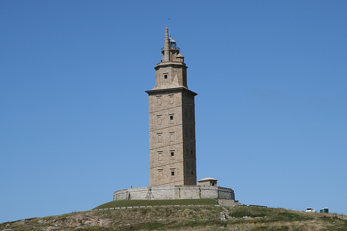 Torre de Hercules - Copyright 2007 Creative Commons