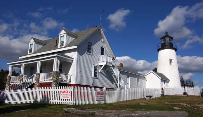 Pemaquid Point  - Copyright 2014 WA9HED