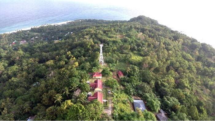 Nusanive Lighthouse of Ambon - Copyright 2016 District of Navigation Ambon