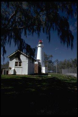 Lighthouse Lady Elliot Island Australia Great Barrier Reef - Copyright 1981 Peter Allen Aqua-Photo