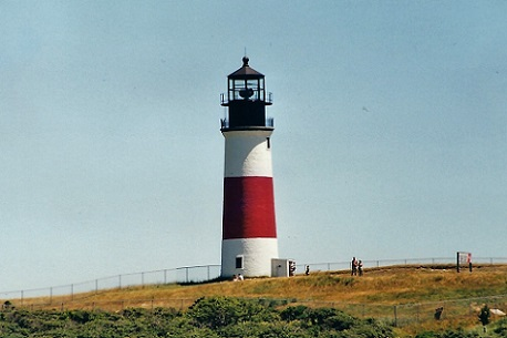 Sankaty Head Lighthouse - Copyright 2001 KF4ZLO