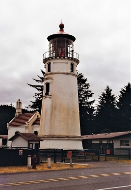 Umpqua River Lighthouse - Copyright 1999 KF4ZLO
