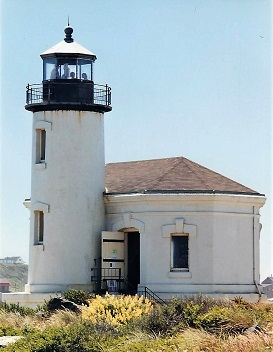 Coquille River (Bandon) Lighthouse - Copyright 1999 KF4ZLO