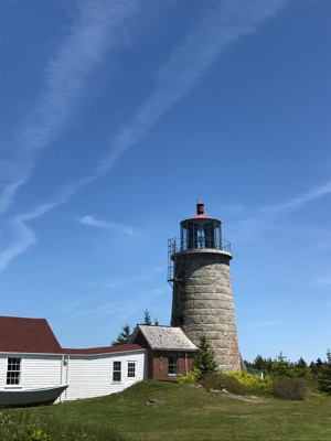 Monhegan Island Light - Copyright 2017 Harry Mueller, W1HMM