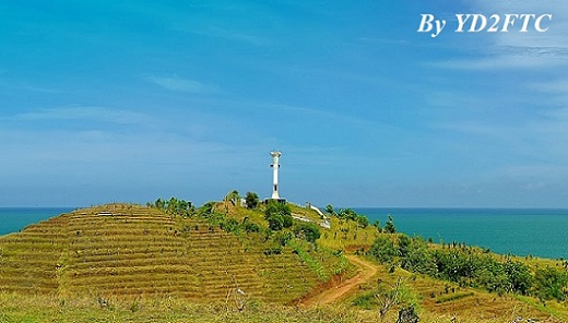 Menganti Light House - Copyright 2015 YD2FTC
