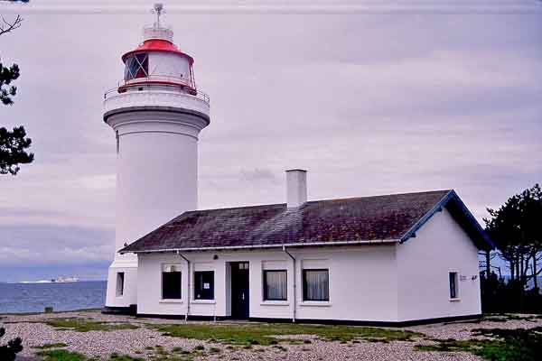 Sletterhage Lighthouse - Copyright 2001 Photo by F. Lee Graves