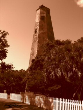 Bald Head Island (Old Baldy) Lighthouse - Copyright 2006 J.S.C. Kirk
