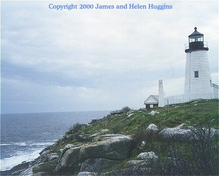 Pemaquid Point - Copyright 2000 James and Helen Huggins