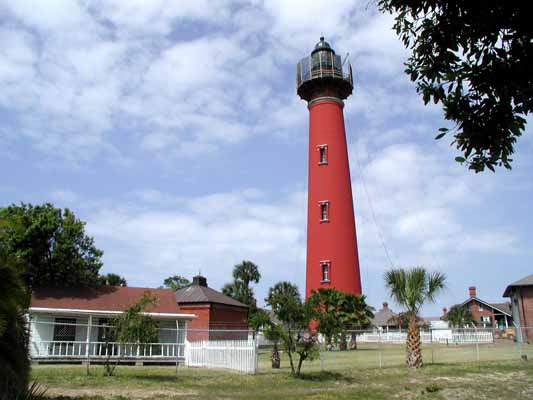 Ponce Inlet Lighthouse - Copyright 2004 Photo by F. Lee Graves