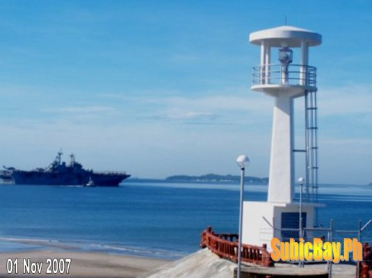 Kalaklan Lighthouse, Olongapo - Subic Philippines - Copyright 2007 Edwin J. Piano