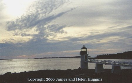 Marshall Point - Copyright 2000 James and Helen Huggins