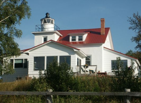 Eagle River Lighthouse - Copyright 2007 N8MR