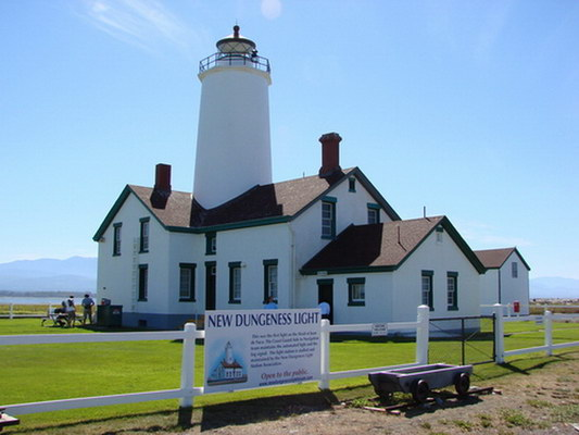 New Dungeness Lighthouse - Copyright 2006