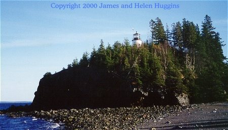 Owl's Head, Maine - Copyright 2000 James and Helen Huggins
