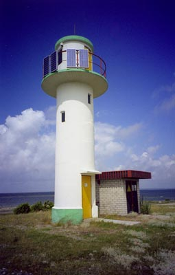 Lóu front range light beacon - Copyright 1999 Tuderna