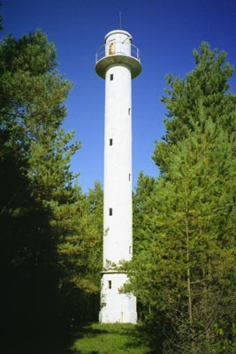 Norrby front range lighthouse - Copyright 2004 Tuderna