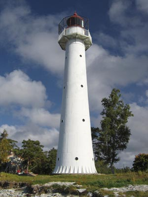 Saxby lighthouse - Copyright 2005 Tuderna