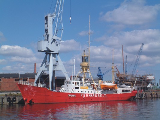 Lightship Fehmarnbelt - Copyright 2003 © by DL1WH