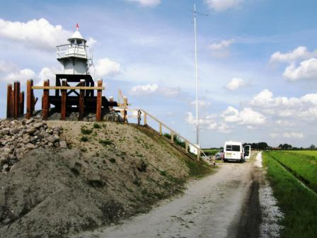 rebuild lighthouse Blokzijl - Copyright 2008 Henk PAØHFT